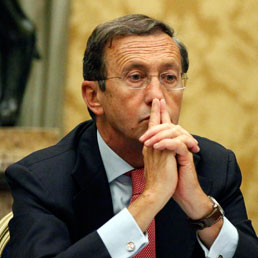 Il Presidente della Camera Gianfranco Fini. (Ansa)