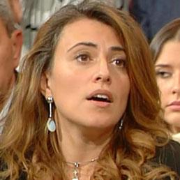 Federica Salsi, consigliere comunale del Movimento 5 Stelle a Bologna, ospite della trasmissione Ballarò (Ansa)