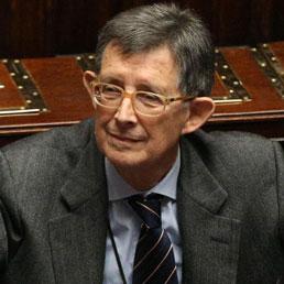 Il ministro Piero Giarda (Ansa)