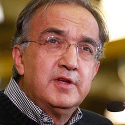 L'amministratore delegato di Fiat e Chrysler, e presidente di Fiat Industrial, Sergio Marchionne
