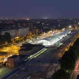 Torino inaugura la nuova stazione di porta susa progetto - Orari treni milano torino porta nuova ...