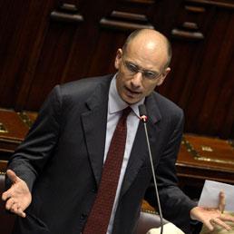 Il presidente del Consiglio, Enrico Letta (Afp)