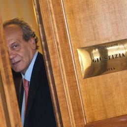 Nitto Francesco Palma, presidente della Commissione Giustizia (LaPresse)