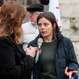 La deputata marchigiana Patrizia Terzoni. (Fotogramma)