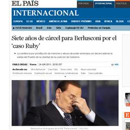 Il Wsj: la condanna di Berlusconi minaccia il fragile governo italiano