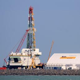 Il campo petrolifero di Kashagan nel Nord del Caspio (Reuters)