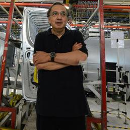 L'amministratore delegato di Fiat, Sergio Marchionne. (Ansa)
