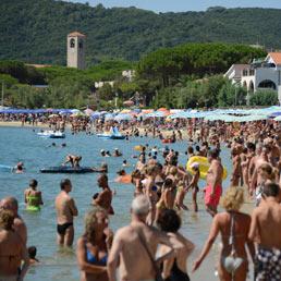 Turismo, stagione salva grazie agli stranieri