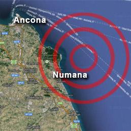 Scossa di terremoto sulla costa marchigiana, paura tra i turisti