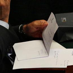 Dimissioni, gli onorevoli Pdl firmano le prime lettere
