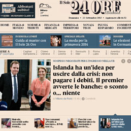 Il Sole 24 Ore.com premiato ai Macchianera Awards come miglior sito economico