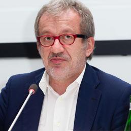 Il Presidente della Regione Lombardia Roberto Maroni. (Ansa)