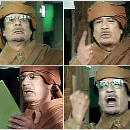 Gheddafi in tv: non mi dimetto, morirò come un martire