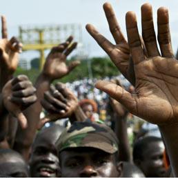 Guerra civile in Costa d'Avorio (Afp)