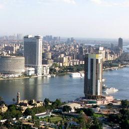 Nella foto una veduta panoramica del Cairo