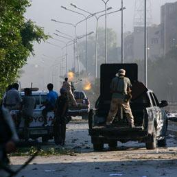 Ribelli libici controllano il distretto di Abu Salim a Tripoli