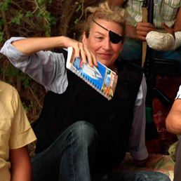 L'inviata di guerra del Sunday Times Marie Colvin. (Reuters)