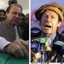 Sharif-Nawaz - Imran-Khan (Reuters)