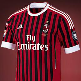 Presentata la nuova maglia del Milan