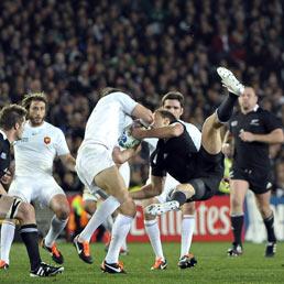Finale tra Francia e Nuova Zelanda per la Coppa del Mondo di rugby (Ansa)