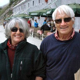 Rossana Podestà e Walter Bonatti (Olycom)