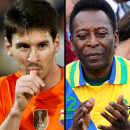 Lionel Messi e Pele'