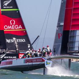 Vuitton Cup, New Zealand strapazza Luna Rossa nella prima vera regata