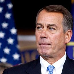 Il leader repubblicano della Camera John Boehner