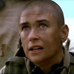 "Demi Moore nel film ""Soldato Jane"""