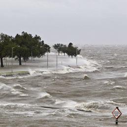 Isaac sferza la Louisiana sette anni dopo Katrina (Epa)