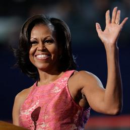 MIchelle Obama alla convention democratica di Charlotte (Ap)