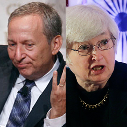 Larry Summers e Janet Yellen (Reuters/Ap)