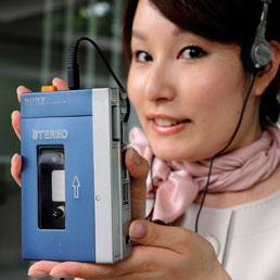 Sony fra presente e futuro: il Walkman in pensione, arriva il PlayStation Phone (Afp)