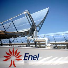 La centrale a pannelli solari di Siracusa avviata da Enel ed Enea (Imago)