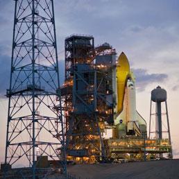 L'ultimo viaggio dello Shuttle con il tricolore nello spazio