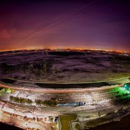 L'acceleratore Tevatron del Fermilab di Batavia (Chicago)