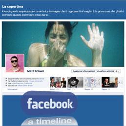 La nuova faccia di Facebook (Timeline) debutterà tra pochi giorni in Italia