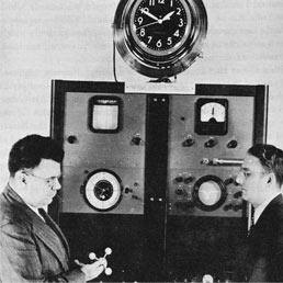 Il primo orologio atomico, costruito più di 50 anni fa