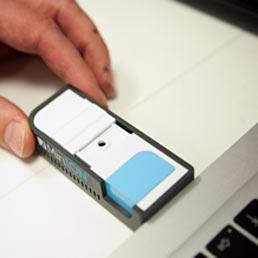 Il MiniON della Oxford Nanopore (credit: Oxford Nanopore)