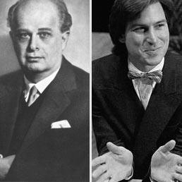 Adriano Olivetti, Steve Jobs