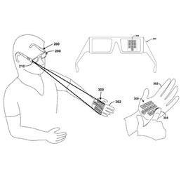 Google presenta brevetto per una tastiera virtuale