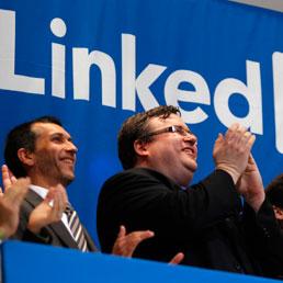 Reid Hoffman fondatore di LINKEDIN (Reuters)