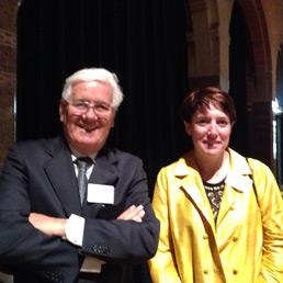 Luigi Cattel e Barbara Stella dell'Università di Torino