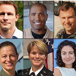 Gli 8 candidati astronauti selezionati dalla Nasa dopo un anno e mezzo di prove e test
