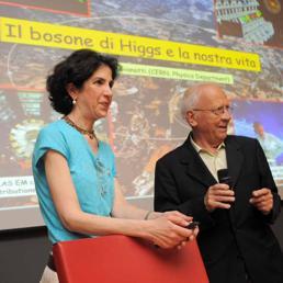 Fabiola Gianotti e il bosone di Higgs