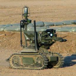 In Afghanistan i robot da guerra della Oto Melara - La sfida del super robot