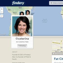 Dopo Flickr ecco Findery, la nuova community di Caterina Fake