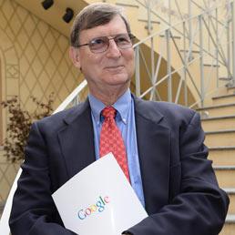 Il chief economist di Google Hal Varian in occasione del premio E' giornalismo