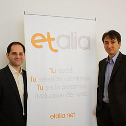 Nella foto Aldo Daghetta (a sinistra) e Nicola Alex Tateo