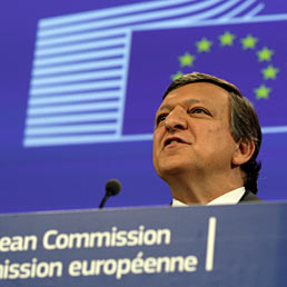 Il presidente della Commissione europea, Jos Manuel Durao Barroso (AP Photo)